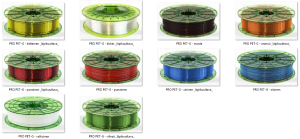 PRO PET-G - kaikki värit - 300pix