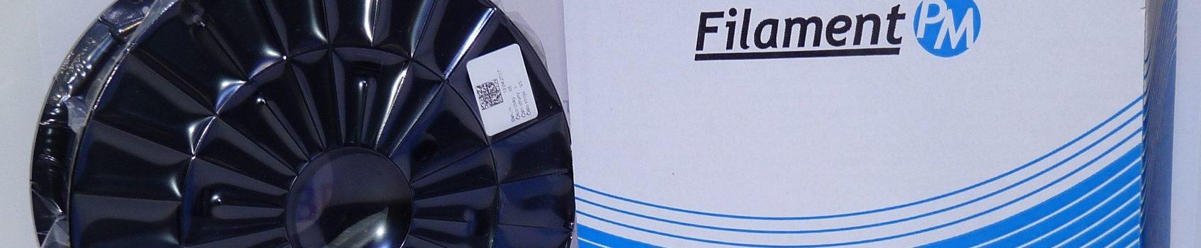 "3D-tulostuslanka ""Filament PM"", ABS-läpikuultava 2,90mm, sininen, 1 kg"