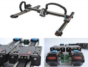 CreatBot D600 Pro-linear rails