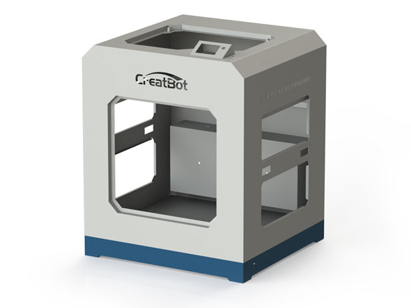 CreatBot D600 Pro metal frame